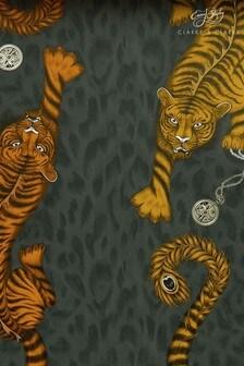Emma Shipley Tigris Flame Wallpaper