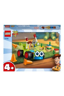 LEGO® Toy Story 4 Woody & Remote Control Car