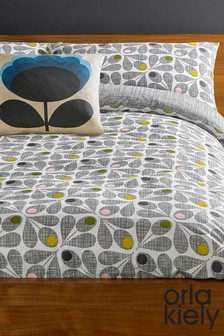 Set of 2 Orla Kiely Acorn Cup Pillowcases