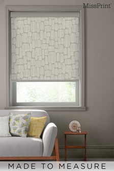 Little Trees Kernel Natural Made To Measure Roller Blind by MissPrint