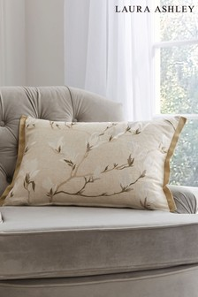 Natural Magnolia Grove Cushion