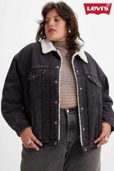 Kurt Geiger London Black Leather Dextor V Cut Boot