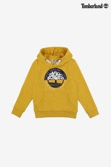 Timberland® Yellow Logo Hoody