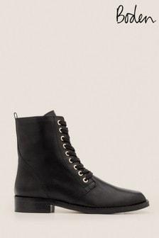 Boden Black Ampton Ankle Boots