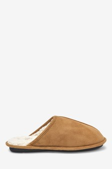 Stag Mule Slippers