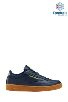 Reebok Navy Gum Club C 85 Trainers