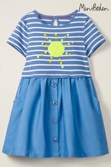 Boden Blue Sequin Colour Change Dress