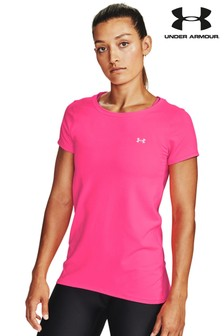 Under Armour Pink HG Armour T-Shirt