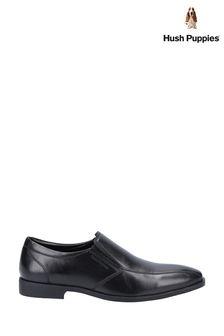 Hush Puppies Black Ellis Slip-On Shoes