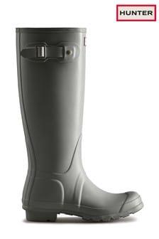 Hunter Grey Original Tall Wellies