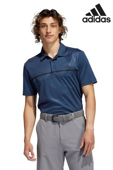 adidas Golf Chest Print Polo Shirt