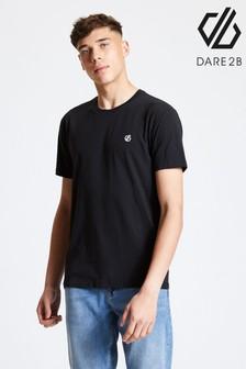 Dare 2B Black Devout Cotton T-Shirt