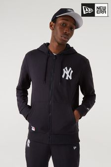 New Era Black Full Zip Hoodie