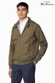 Ben Sherman Green Signature Harrington Jacket