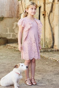 Angel's Face Pink Anastasia Lace Dress