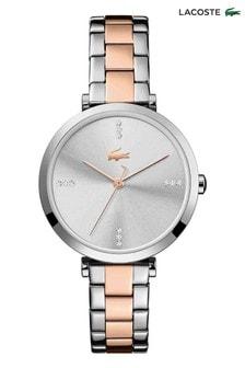 Lacoste Gold Two Tone Geneva Watch