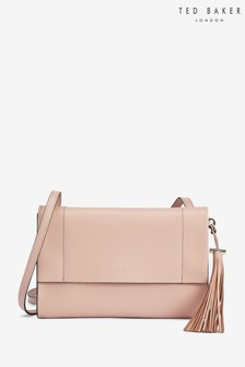 Ted Baker Natalei Leather Tassel Detail Cross Body Bag