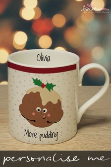 Personalised More Pudding Mug by Signature PG