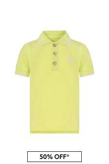 Timberland Baby Yellow Cotton Polo Shirt