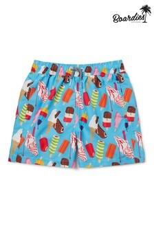 Boardies Boys Ice Creams Mid Length Swim Shorts