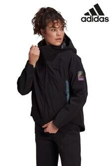 adidas Black Myshelter Rain Jacket