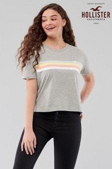Hollister Chest Stripe T-Shirt
