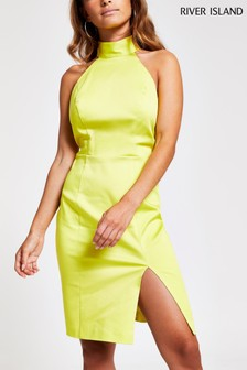 River Island Petite Paris Bodycon Dress