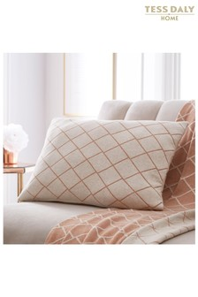 Tess Daly Diamond Knit Cushion
