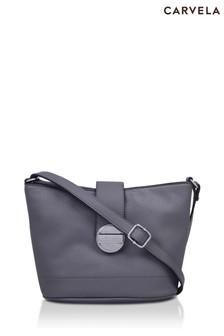 Carvela Grey Deeta Bucket Cross Body Bag
