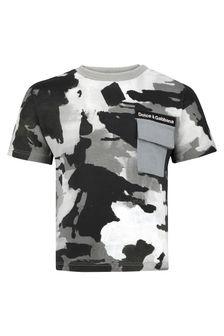 Dolce & Gabbana Kids Baby Boys Camo Print Cotton T-Shirt