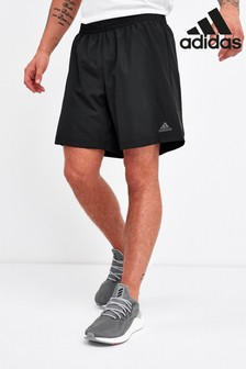 adidas Black Run It Shorts