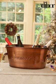 Copper Champagne Cooler Bucket by Dibor