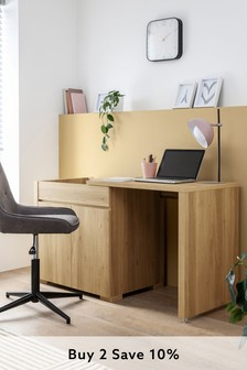 Bronx Extending Sideboard To Desk