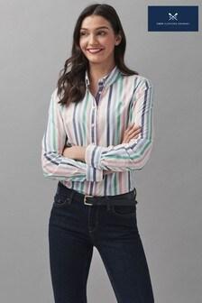 Crew Clothing Company Girlfriend Stripe Shirt
