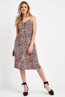 Shirred Cami Dress