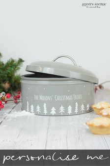 Personalised Scandi Cake Tin by Jonny's Sister