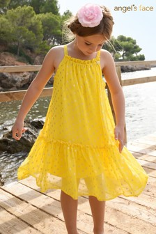 Angel's Face Yellow Margo Dress