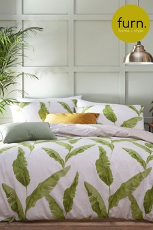 Furn Plantain Duvet Cover and Pillowcase Set