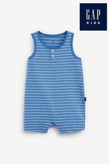 Gap Baby Striped Short Rompersuit