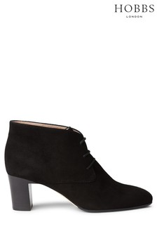 Hobbs Black Patricia Ankle Boots
