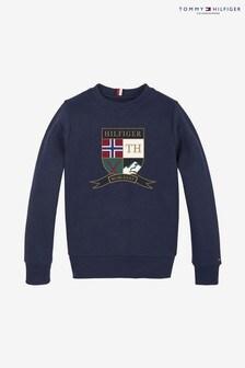 Tommy Hilfiger Shield Embroidery Sweatshirt