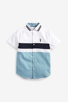 Colourblock Shirt (3-16yrs)