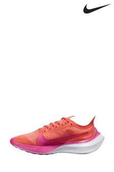 Nike Run Orange/Pink Zoom Gravity Trainers