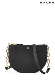 Ralph Lauren Leather Sutton Cross Body Bag