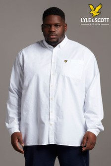 Lyle & Scott Plus Size Oxford Short Shirt