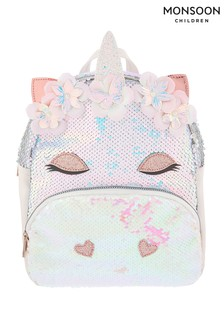 Monsoon Mirage Sequin Unicorn Backpack