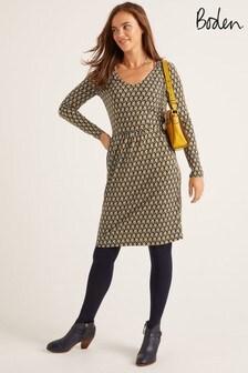 Boden Blue Romilly Jersey Dress
