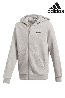 adidas Linear Zip Through Hoody