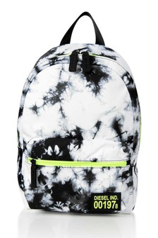 Boys Black Tie Dye Backpack