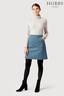Hobbs Blue Elodie Skirt